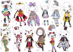 -CLOSED - Outfit adopt MIX by Guppie-Adopts.deviantart.com on @deviantART