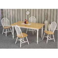 gonna redo small kitchen table and chairs like this