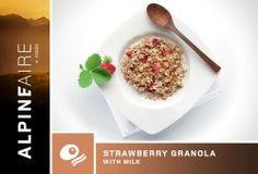AlpineAire Foods Strawberry Granola with Milk