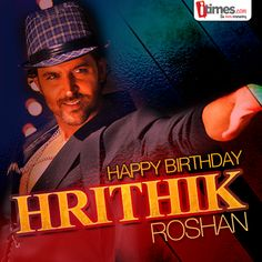 The Greek God, #HrithikRoshan turns a year older today. His sincerity, dedication & electrifying looks make him the most desirable stars in #bollywood. Here's wishing Duggu a very #HappyBirthday. For his rare clicks-