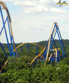Nitro at Six Flags Great Adventure in Jackson, New Jersey,