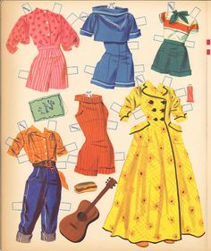 Paper Dolls~Cathy Goes To Camp - Bonnie Jones - Picasa Web Albums