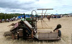 Machine agricole moissonneuse lieuse