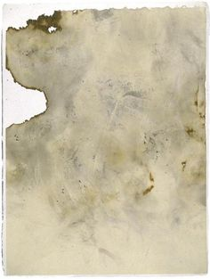 Eight prints from John Cage's Eninka (smoked paper monotypes; 1986)