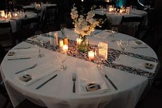 Mason Jars Weddings Centerpiece Candle | Wedding, Flowers, White, Centerpiece, Ceremony, Jar, Mason, Posh stems ...