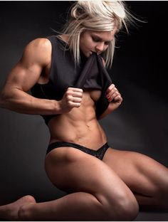 scitechfitness: ebaserebaser: Brooke Ence, so hot Yes.