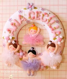 felt ballerinas by Ei menina! - Erica Catarina, via Flickr