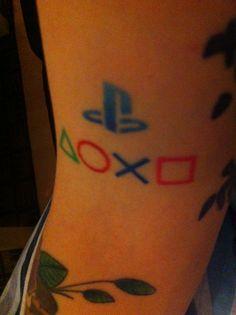 Just love my PlayStation tattoo