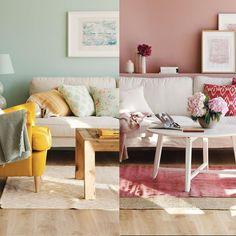 Pinta tu salón con colores que decoren (y emocionen)