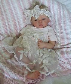 DOVES NURSERY ~ Beautiful Reborn Baby Girl ~ ELODIE ~ Evelina Wosnjuk Sculpt