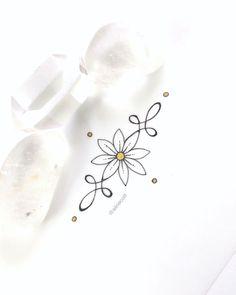 Tattoo | Ink | Feminine | Flora | Buddhism