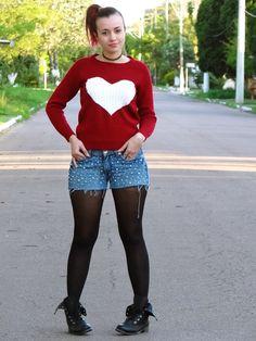 Bianca Schultz   Blog de Moda e Beleza: Look: Heart