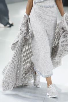Chanel Trainers Couture Show - Catwalk Pictures Karl Lagerfeld | British Vogue