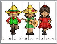 Cinco de Mayo Counting Puzzles