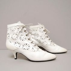 So many outfits that I imagine being perfectly completed with a pair of victorian booties.