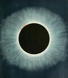 "nemfrog: ""Eclipse of the sun, 1905. Knowledge. October 1905. """