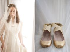 I love these shoes for a backyard wedding. No sinking.