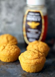 These pumpkin cornbread muffins are healthy and wonderful for cozy winter meals!