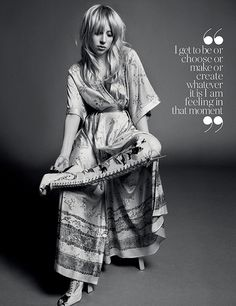 lady gaga inez vinoodh5 Lady Gaga Channels Stevie Nicks for Inez & Vinoodh in Porter Shoot