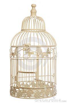 Vogelkooi decoratie antiek look vogeltjes roosje rechthoek for Vogelkooi decoratie