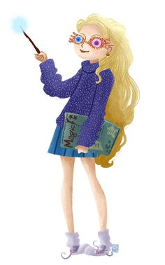 Luna Lovegood   So cute!