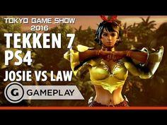 Tekken 7 Josie V Law - PS4 Gameplay