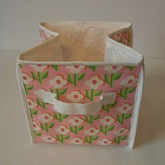 Via Obsessively Stitching: Storage Cube TUTORIAL, Part Two    Binding!