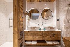 Chalet Largo - villa Chalet Largo Megeve | Isle Blue Shared Bathroom, Bathroom Kids, Image Master, Jacuzzi Outdoor, Mountain Living, Indoor Swimming Pools, Open Plan Living, Double Bedroom, Workout Rooms
