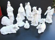 Avon Christmas Nativity Scene Porcelain Avon by GOSHENPICKERS
