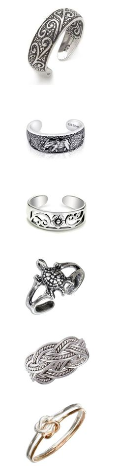 Lets Pamper our toe with these antique toe rings collection. #Antiquetoerings - These are must Jewelry for every woman.