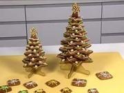 Vánoční stromek z perníku - jak udělat perníkový vánoční stromeček