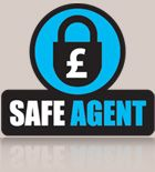 For your peace of mind, we are registered with Safe Agent