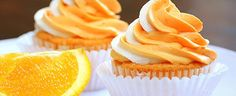 Juicy Sinaasappel Cupcakes