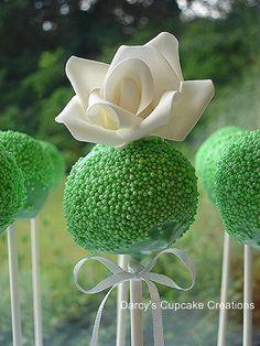 Rose Cake Pop