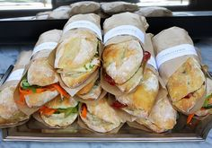 The Paris Market Café's baguette sandwiches are the perfect lunchtime find on Broughton Street!