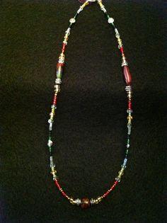 Galaxy necklace. SOLD