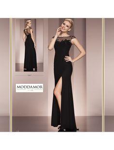 Transparan detaylı yırtmaçlı abiye elbise #ss15 #fashion