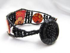 Chan Luu style Wrap Bracelet Oriental Floral by PlethoraGifts, $18.00