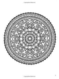 Amazon.com: Mystical Mandala Coloring Book (Dover Design Coloring Books) (9780486456942): Alberta Hutchinson: Books