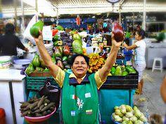 Woman in Mercado Modelo, Chiclayo, Peru