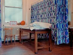 physio cubicle hackney hospital 1988 | Flickr - Photo Sharing! Cubicle, East London, Toddler Bed, Curtains, Brown, Nursing, Furniture, Home Decor, Child Bed