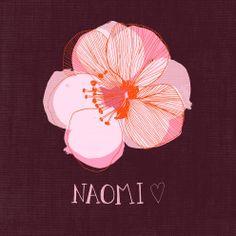 A flower for Naomi by Zoe Ingram.