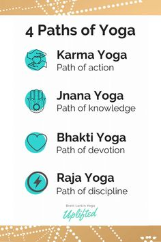 Types of Yoga Explained How well do you know the different types of yoga? This is a guide to the different types and styles of yoga so you can decide what's best for you. #pathsofyoga #yogaphilosophy #fouryogapaths Prenatal Yoga, Restorative Yoga, Ishta Yoga, Indian Yoga, Jnana Yoga, Different Types Of Yoga, Bhakti Yoga, Yoga Philosophy, Kundalini Yoga