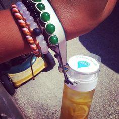 My 2 fav things at the money #lokai #bracelet #definebottle #love #lemons