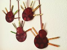 Thankful little turkeys. Easy Thanksgiving project to do with the kids!