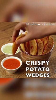 Tasty Vegetarian Recipes, Snack Recipes, Burger Recipes, Cooking Recipes In Urdu, Wedges Recipe, Chaat Recipe, Indian Dessert Recipes, Yummy Food, Pasta