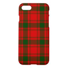 MacQuarrie iPhone 8/7 Case - red gifts color style cyo diy personalize unique