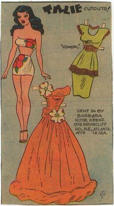 Tillie the Toiler Paper Dolls - Bing Images