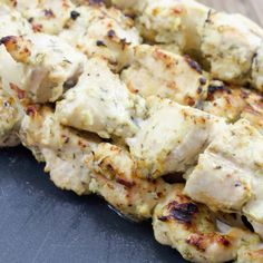 A perfect chicken recipe where Greek yogurt coats the chicken making it soft and moist, and juicy. An easy chicken marinade that's boasting big Greek flavors.