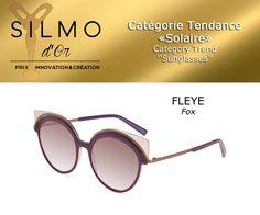 SILMO Paris, salon mondial de l'optique Trending Sunglasses, Round Sunglasses, Sandro, Paris, Or, Innovation, Drawing Rooms, Montmartre Paris, Paris France